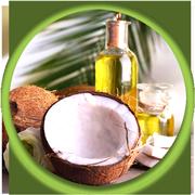 Dermal masaža s kokosovim oljem